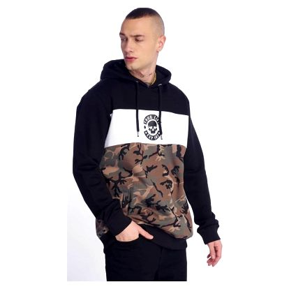 Thug Life / Hoodie Lion in camouflage 3XL