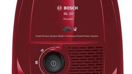 Vysavač podlahový Bosch BGL3A338 červený