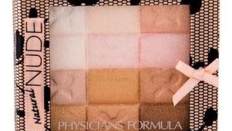 Physicians Formula Shimmer Strips Nude All-in-1 7,5 g víceúčelová paletka pro ženy Natural Nude