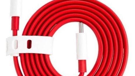 OnePlus USB/USB-C, 1m červený (MP007476)