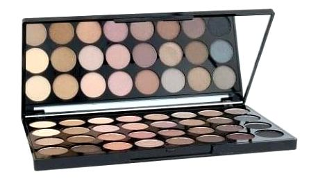 Makeup Revolution London Ultra Eyeshadows Palette Beyond Flawless 16 g paletka 32 očních stínů pro ženy
