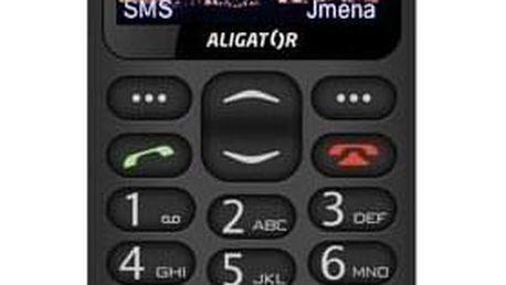 Aligator A880 GPS Senior černý (A880BK)