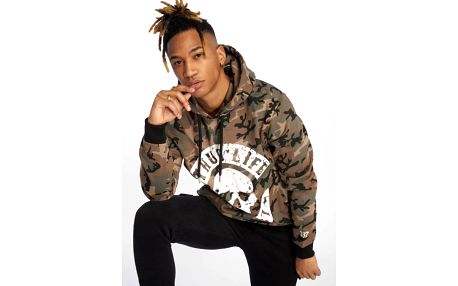 Thug Life / Hoodie B.Distress in camouflage 3XL