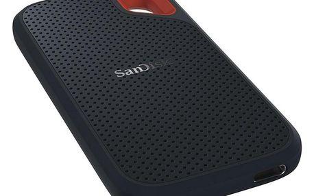 SSD externí Sandisk Extreme Portable 500GB černý (SDSSDE60-500G-G25)
