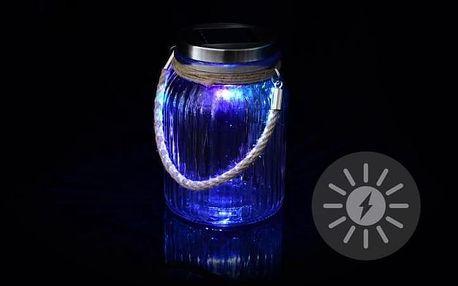 Garthen 36425 Dekorativní solární osvětlení - závěsná sklenice - LED měnící barvu