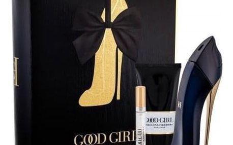 Carolina Herrera Good Girl dárková kazeta pro ženy parfémovaná voda 80 ml + tělové mléko 100 ml + parfémovaná voda 10 ml