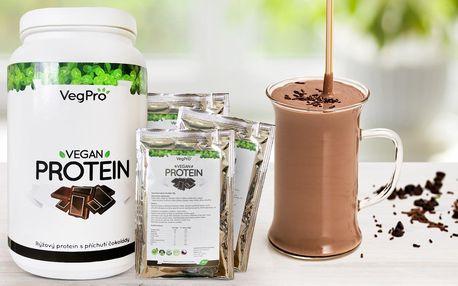 Čokoládový rýžový protein bez lepku, alergenů a sóji