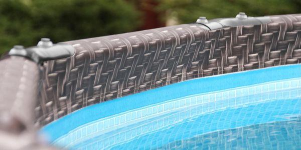 Marimex Bazén Florida Premium 4,88x1,22 m bez filtrace - motiv RATAN - 103402143