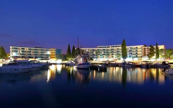 Hotel Ilirija, Chorvatsko, Severní Dalmácie, Biograd na Moru, vlastní doprava, polopenze4
