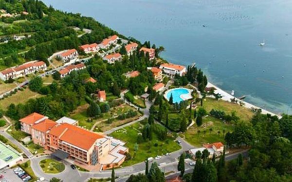 Hotel Salinera 3*, Slovinsko, Dovolená u moře Slovinsko, Strunjan, vlastní doprava, snídaně v ceně5
