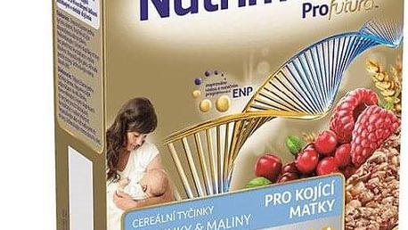 2x NUTRILON NUTRIMAMA ProFutura cereální tyčinky Brusinky a Maliny (5x40g)