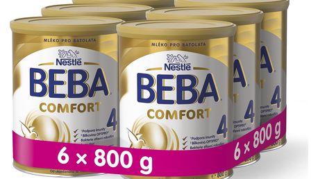 6x BEBA Comfort 4 (800 g) – kojenecké mléko