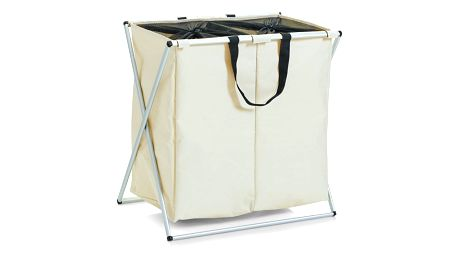 Kontejner na špinavé prádlo, 2 přihrádky, 128 l, ZELLER
