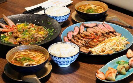 4chodové vietnamské menu pro 2 osoby