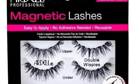 Ardell Magnetic Lashes Double Wispies 1 ks magnetické řasy pro ženy Black
