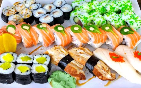 Malý nebo velký sushi set: 34 a 46 kusů
