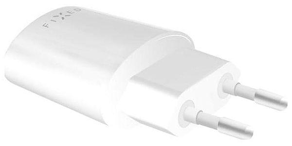 Nabíječka do sítě FIXED 1x USB, 2,4A + micro USB kabel bílá (FIXC-UM-WH)2
