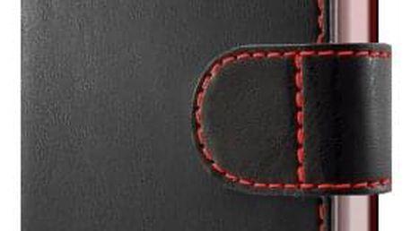 Pouzdro na mobil flipové FIXED FIT pro Samsung Galaxy J5 (2017) černé (FIXFIT-170-BK)