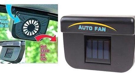 Solární ventilátor do auta