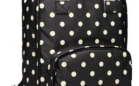Dámský černý batoh Dotty 1807