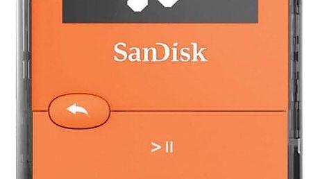 Sandisk Sansa Clip JAM 8 GB oranžový