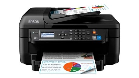 Tiskárna multifunkční Epson WorkForce WF-2750DWF černá (C11CF76402)