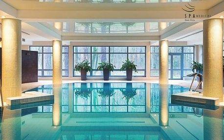 Polsko v luxusním lázeňském Hotelu Spa Medical Dwór Elizy *** s polopenzí
