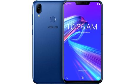 Mobilní telefon Asus Zenfone MAX M2 4GB/32GB, modrá
