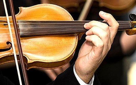 Vstupenka na exkluzivní červnové koncerty v Zrcadlové kapli Klementina.