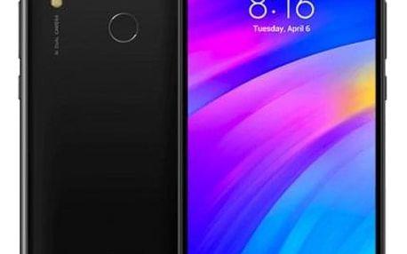 Mobilní telefon Xiaomi Redmi 7 3GB/32GB, černá + Chytrý náramek Xiaomi Mi Band 3