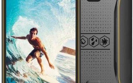 Odolný telefon iGET Blackview GBV5500 2GB/16GB, žlutá + Antivir ESET
