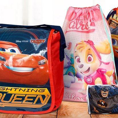 Dětské tašky a sportovní vaky: Frozen i Avengers