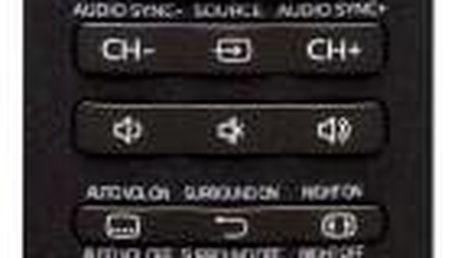Dálkový ovladač Philips SRP5016/10 černý (SRP5016/10)