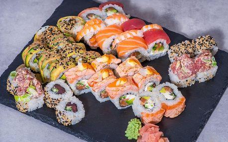8–32 ks sushi včetně dopravy po celé Praze