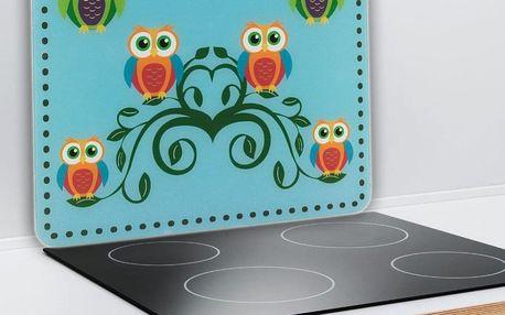 Ochranná skleněná deska HEDWIG & HERMES na sporáky, velká, WENKO