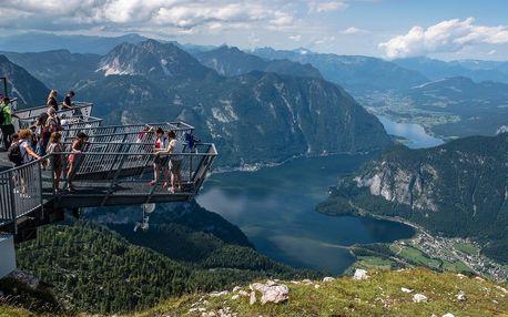 """Dachstein – vyhlídka """"Pět prstů"""" a mamutí jeskyně v Rakousku"""
