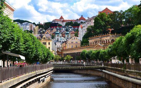 Pobyt v Karlových Varech: jídlo, bazén i procedury