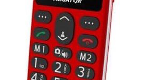 Mobilní telefon Aligator A510 Senior červený (A510R)