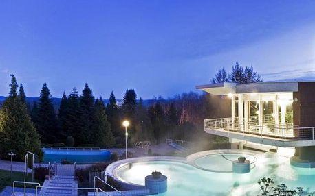 Hévíz, Thermal Hotel Aqua**** s wellness s termální vodou, Hévíz, Maďarsko