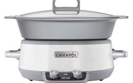Pomalý hrnec Bionaire CrockPot Saute CSC027X šedý/bílý