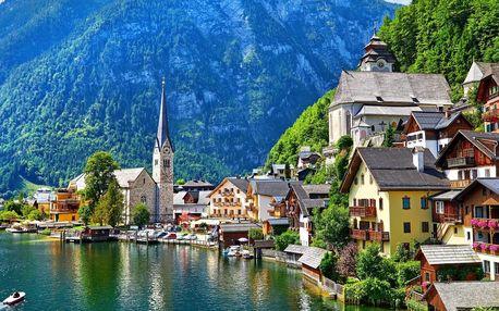 Výlet do rakouského města Hallstattu s projížďkou lodí