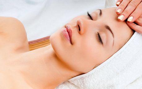 Kosmetické ošetření pleti vč. masáže obličeje