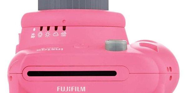 Digitální fotoaparát Fujifilm Instax mini 9 + pouzdro růžový5