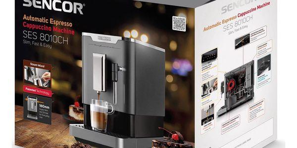 Espresso Sencor SES 8010CH chrom5