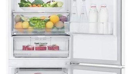 Chladnička s mrazničkou LG GBB62SWGFN bílá