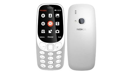 Nokia 3310 (2017) Dual SIM šedý (A00028270)