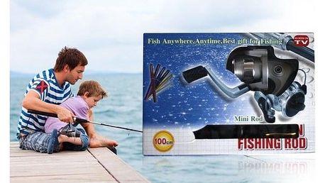 Rybářský mini prut s navijákem