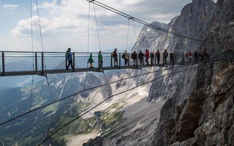 Adrenalinový jednodenní výlet do rakouského Dachsteinu