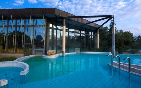 Radenci, hotel Radin**** s termály s minerální vodou, Sever Slovinska, Slovinsko