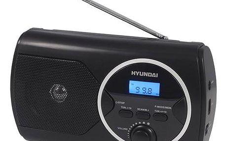 Radiopřijímač Hyundai PR 570PLLUB černý